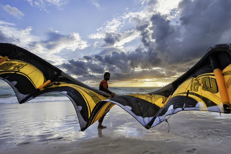 Take kite surfing lessons in Maremma Tuscany. The Wing by Lorenzo Capolupi, via 500px