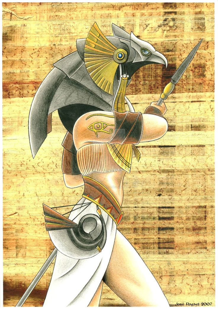 Египетский бог гор в картинках