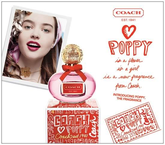 Coach Poppy Perfume | The Honey Flower Girl: Dica de Perfume - Coach Poppy - Coach
