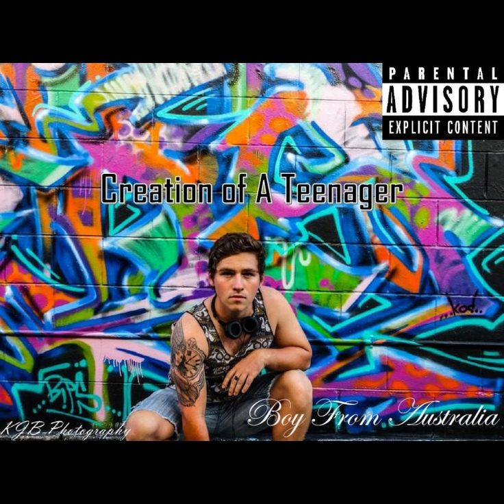 """Check out my new album """"Creation of a Teenager"""" distributed by DistroKid and live on iTunes!"""
