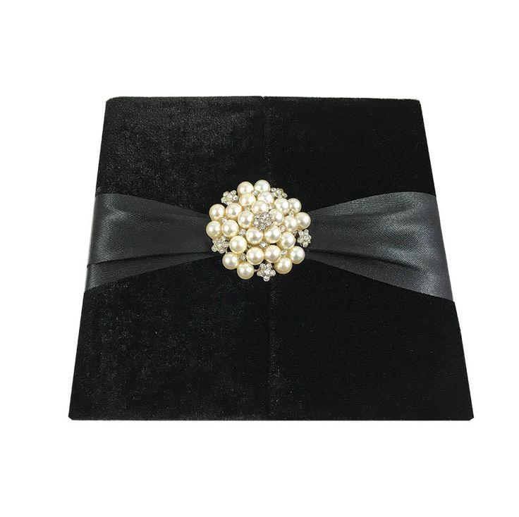 silk box wedding invitations indian%0A Silk Folio Luxury Wedding Invitations Luxury Made With Embellishment  A Set  Of    by luxuryweddinvitation