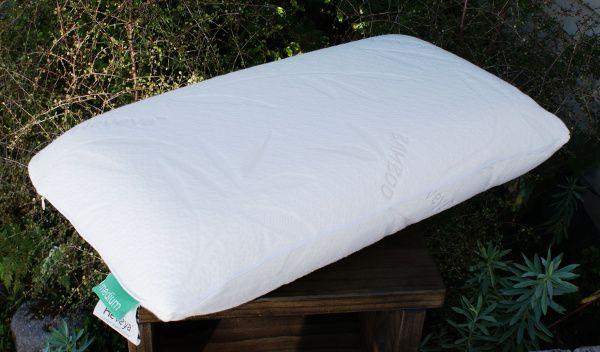 Heveya Organic Latex Pillow and Bamboo Cover Slip