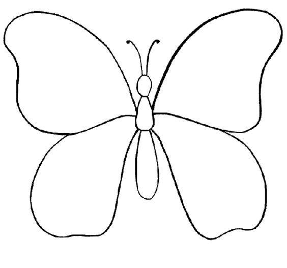 Resultado De Imagen Para Mariposa Animada Para Colorear Mariposas
