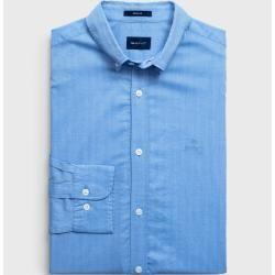 Gant Regular Herringbone Hemd (Blau) Gant