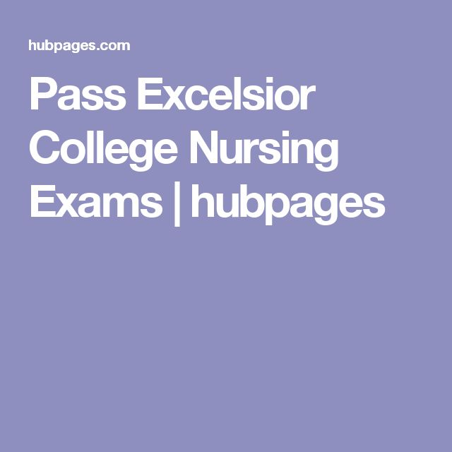 Pass Excelsior College Nursing Exams | hubpages