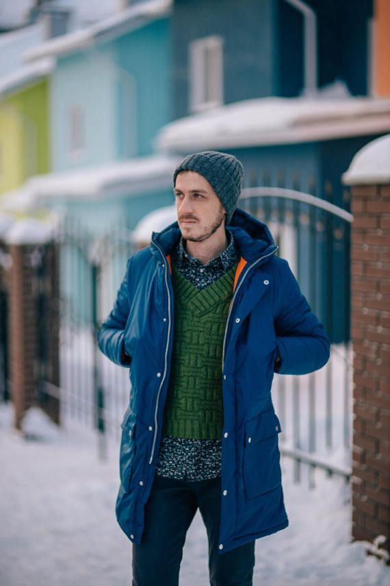 Men's sweater Alaska от Bukreevaknit на Etsy
