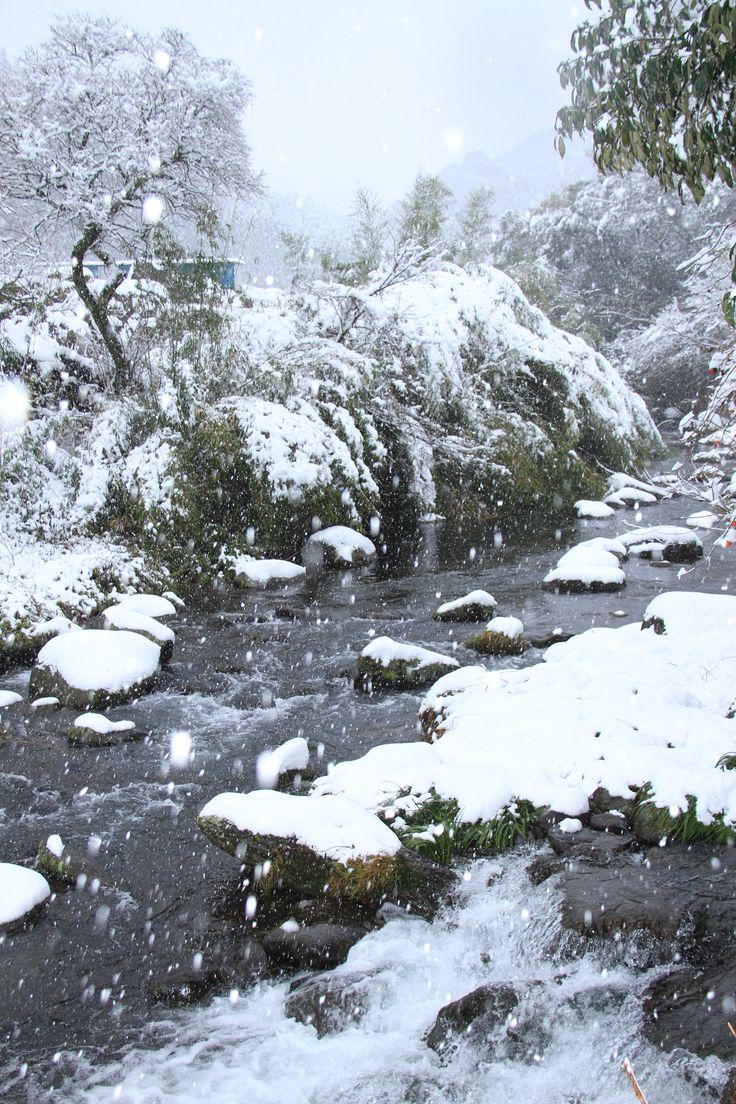 2014.12撮影 球磨村雪景色