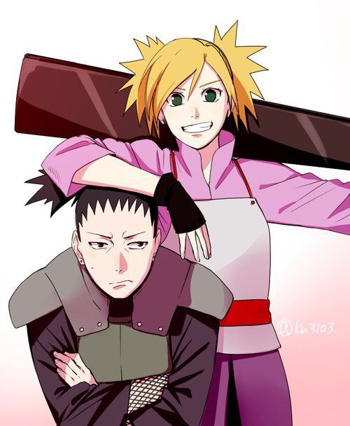shikatema, second best ship in naruto