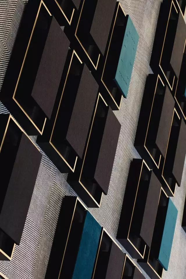 Geothermal Estate Artwork detail by Source Interior Brand Architecture.