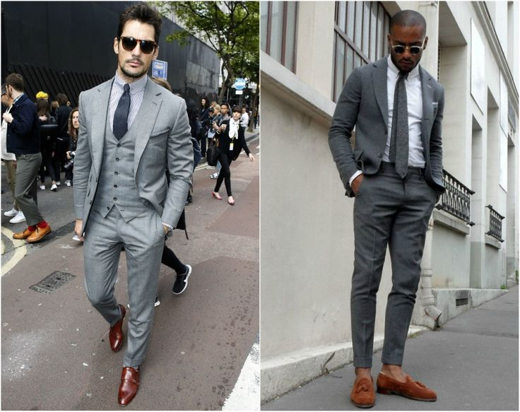 25  best Grey suit brown shoes ideas on Pinterest | Grey suits for ...