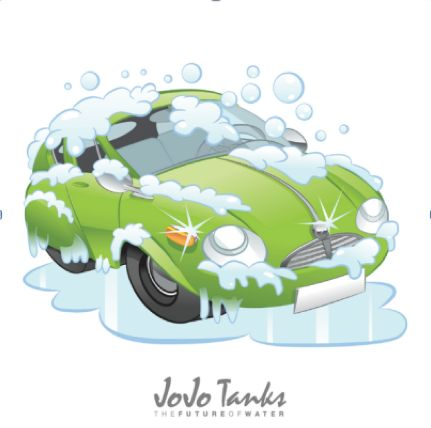Remember, where possible, wash your car on your lawn. The water from the car wash will water your lawn too! #SaveWater #WaterWise