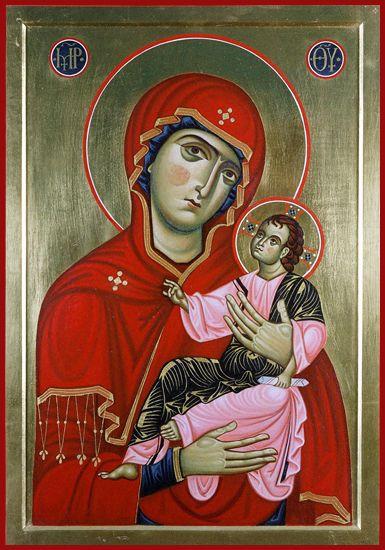 Laboratorio San Michele - Galleria - Icone di Maria Madre di Dio di Pulsano
