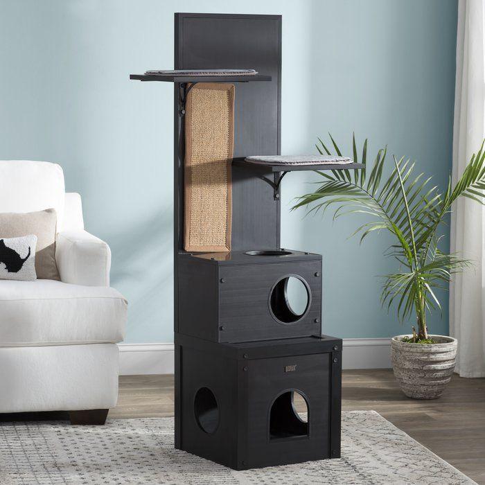 Draco 60 Ecoflex Cat Tree Modern Cat Tree Modern Cat Furniture Cat Tree