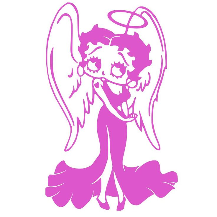 17 Best Images About Betty Boop As An Angel On Pinterest