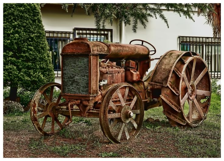 Antique Tractor Steel Wheels : Images about tractors with steel wheels on pinterest