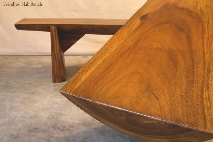 Hunt and Lane | a top shelf furniture company | Trembesi Slab Bench | Solid Wood | Java Indonesia | tropical living | organic, sustainable furnishings and interiors for your home.