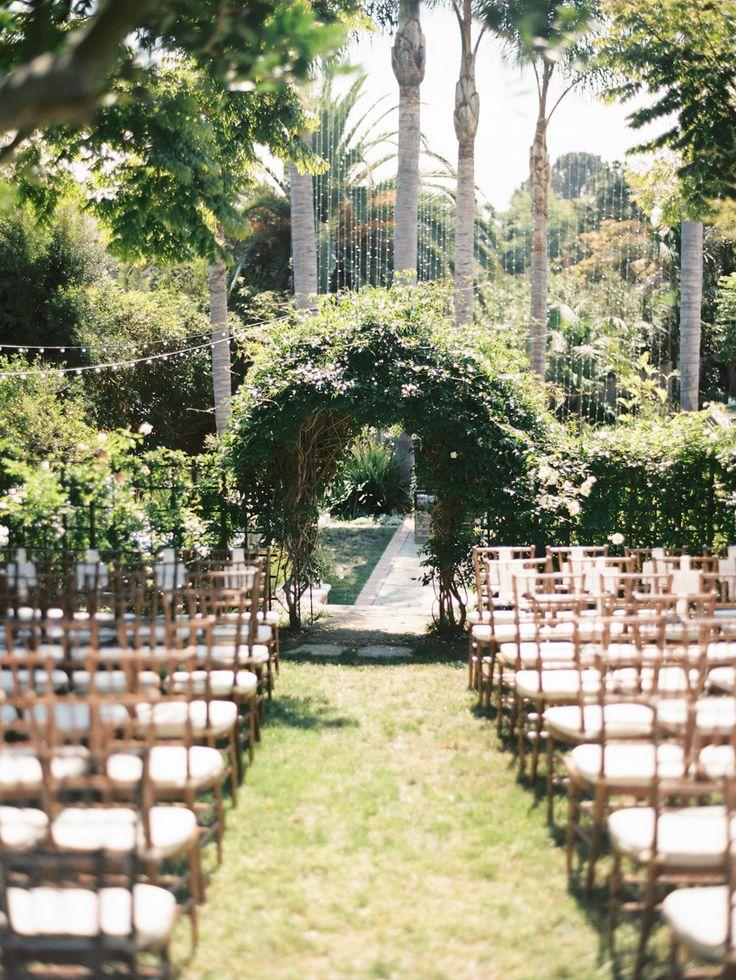 Elegant Del Mar Garden Wedding