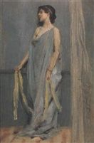 BLUE AND GOLD by George Percy R E Jacomb Hood