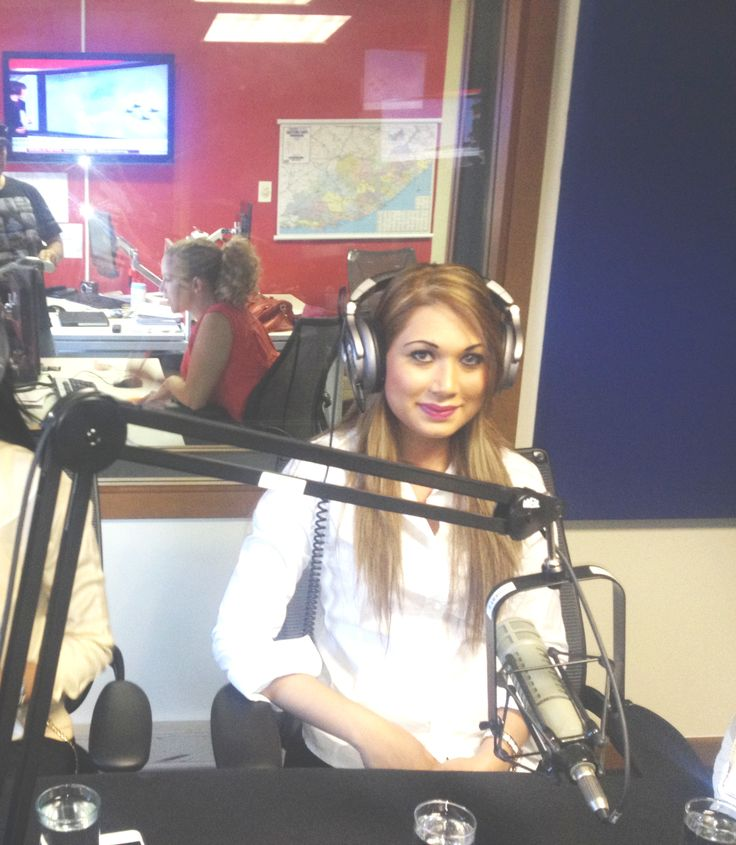 BBC World radio- streamed live in the U.K. interview