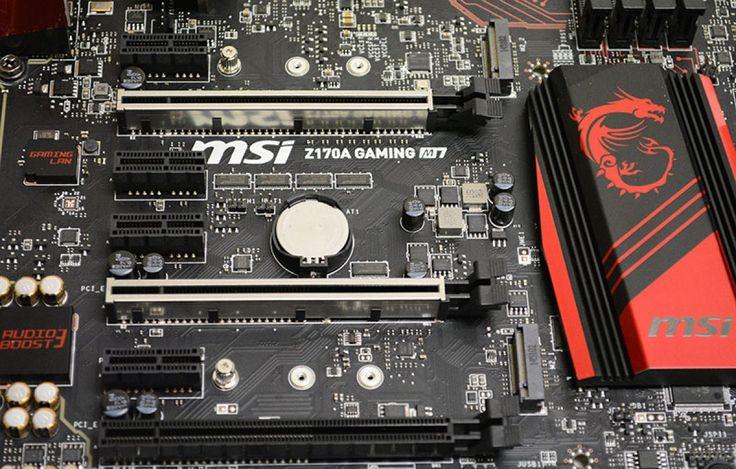 Análisis de la placa base MSI Z170A Gaming M7
