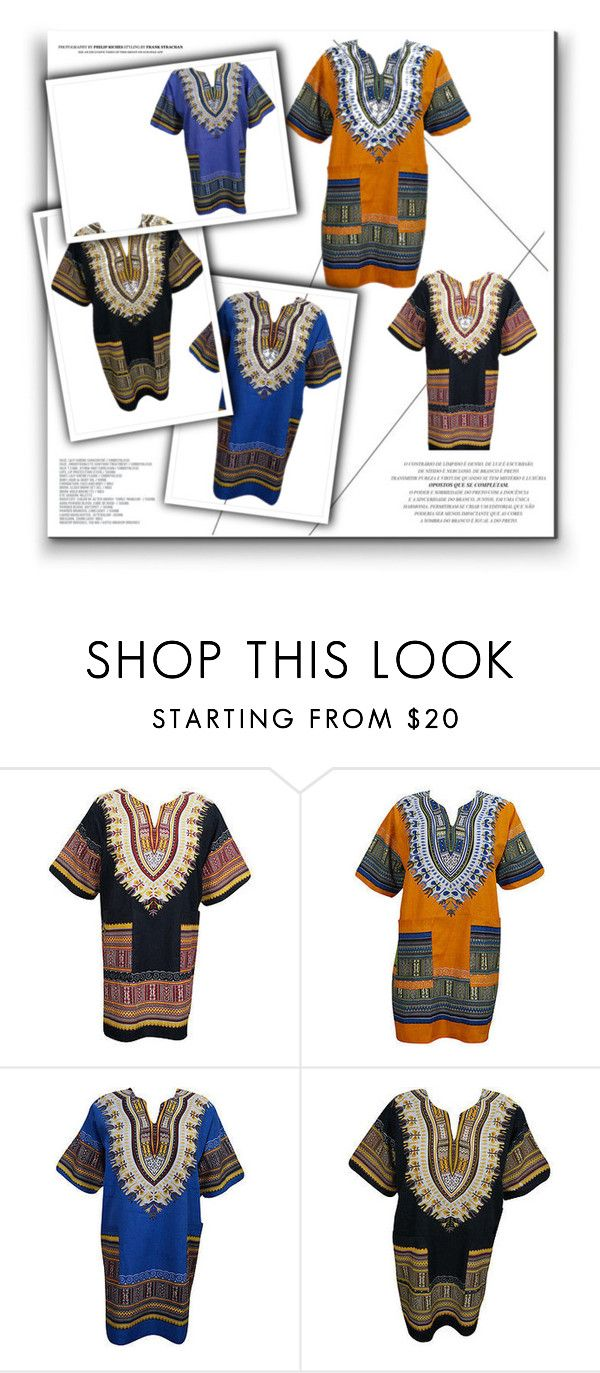 Dashiki Tunic Top Blouse by baydeals on Polyvore featuring tops, blouse, MensFashion, womenfashion and tunic  http://stores.ebay.com/mogulgallery/TOPS-BLOUSES-/_i.html?_fsub=901626119&_sid=3781319&_trksid=p4634.c0.m322
