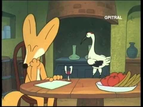 Η αλεπού και το λελέκι Αισώπου Μύθος - YouTube