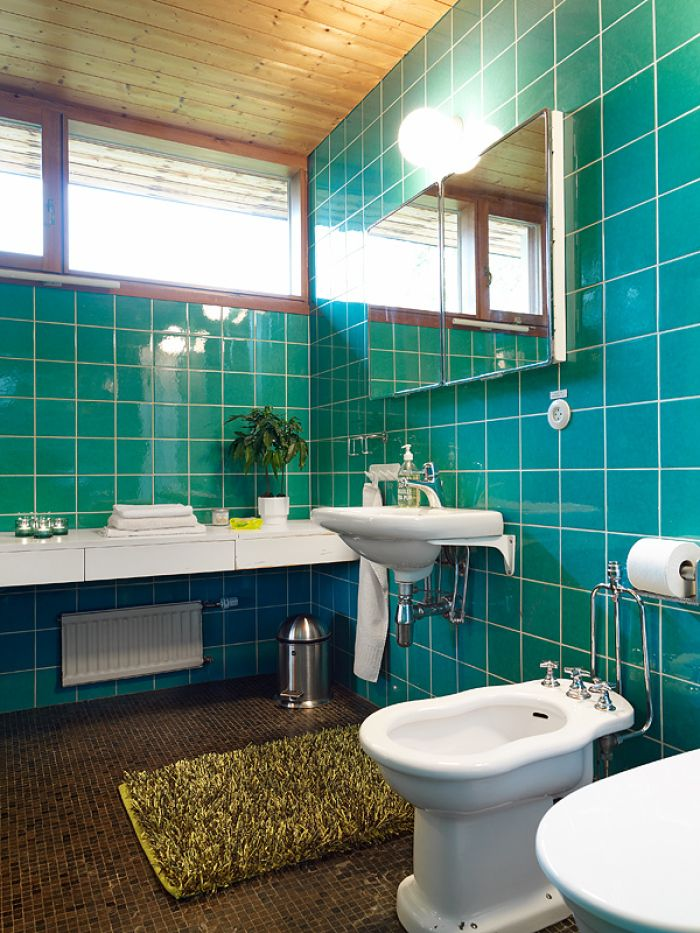 1960s modernism bo cederl f s villa wave avenue for 1960s bathroom design