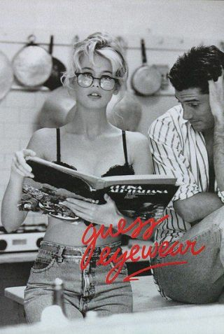 The 14 coolest fashion ads of the 1990s: Claudia Schiffer for Guess