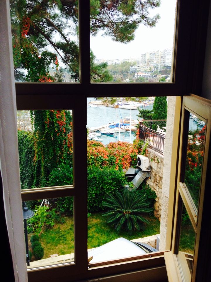 Love this hotel! Puding Marina Hotel in Antalya. View from Room 127