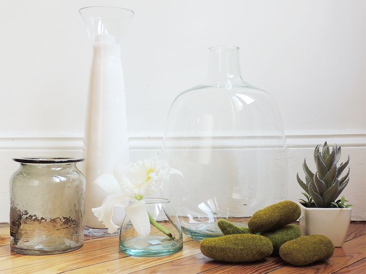 floreros y frascos de vidrio en Solsken. #solsken www.solsken.com.ar