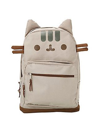 Pusheen Face Backpack,