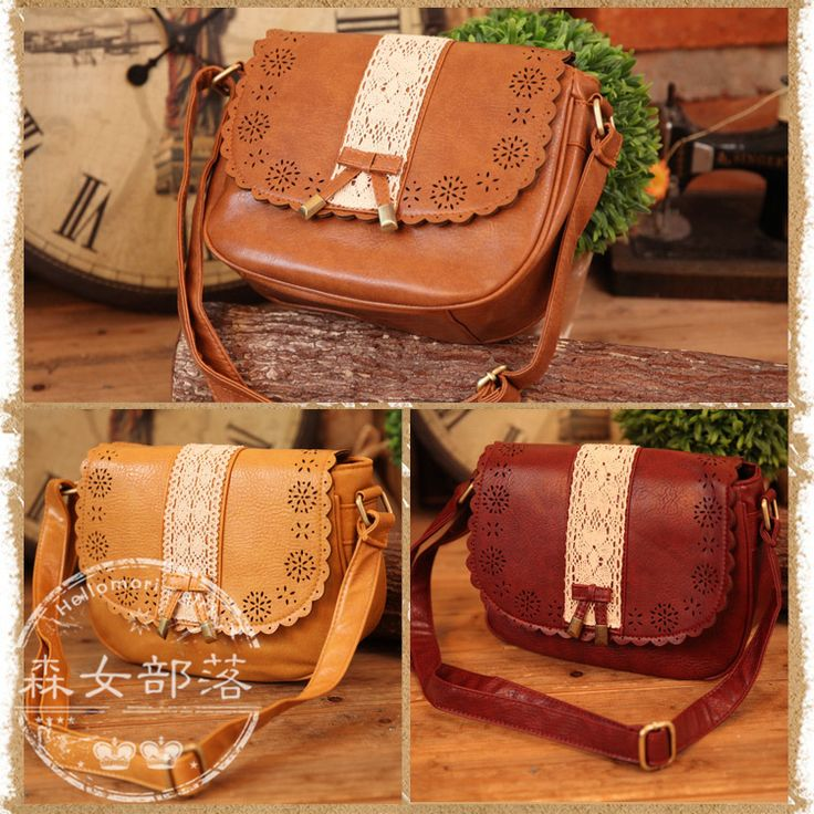 Free shipping 2014 spring women's handbag patchwork bow shoulder bag messenger bag vintage mori girl-inShoulder Bags from Luggage & Bags on Aliexpress.com | Alibaba Group