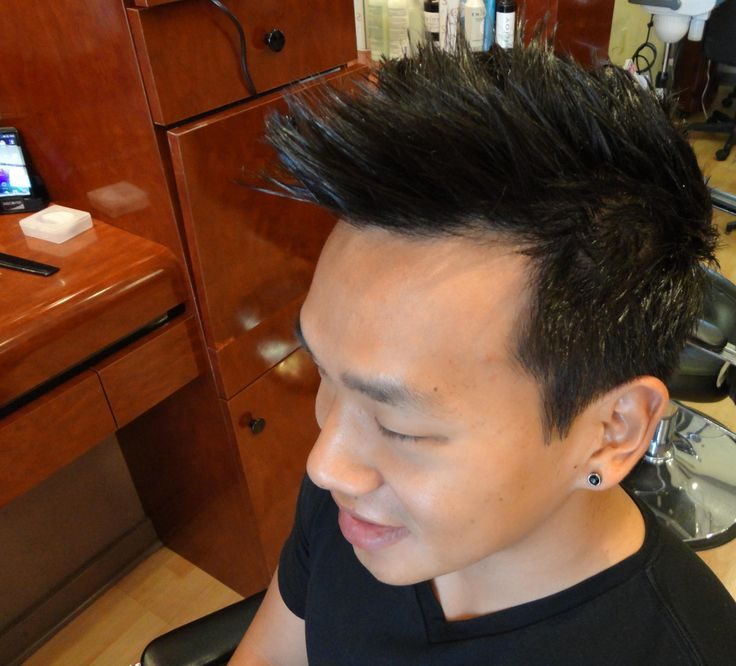 Its asian haircut salon