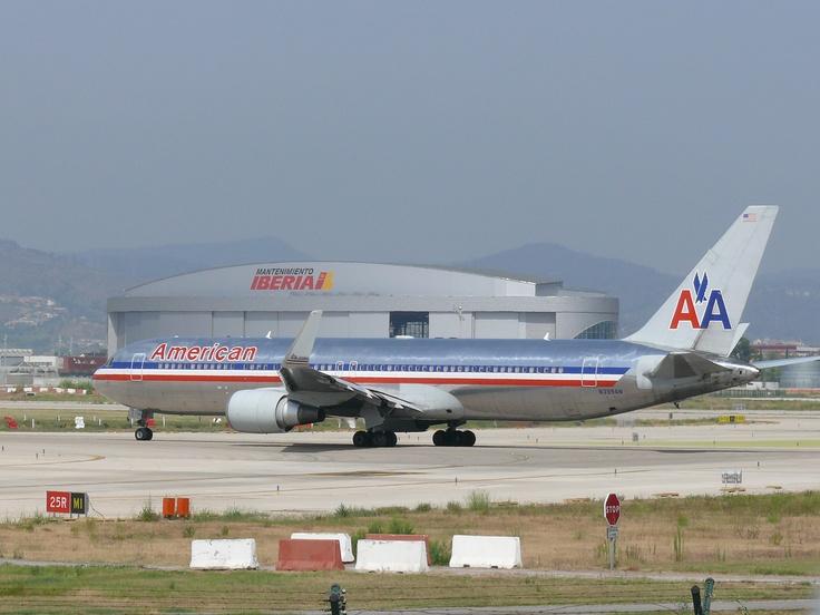 B767 de American Airlines
