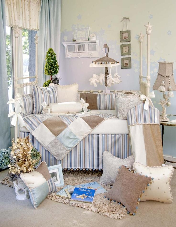 Blue baby boy room