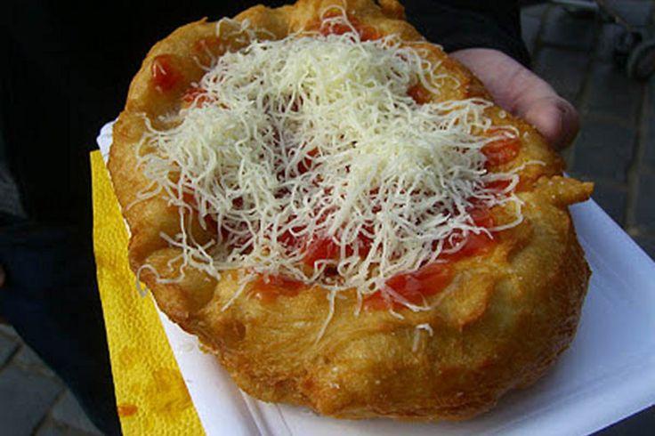 langose czech cuisine - Recherche Google