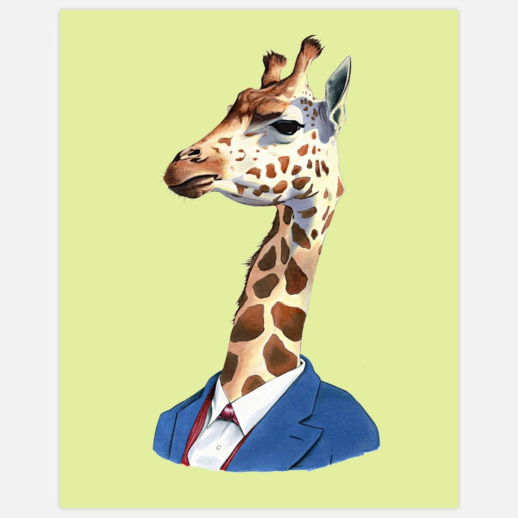Gentleman Giraffe Shirt