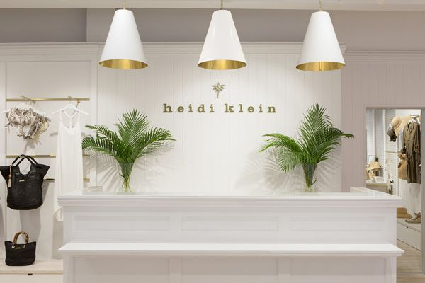Project: Heidi Klein - Retail Focus - Retail Blog For Interior Design and Visual Merchandising
