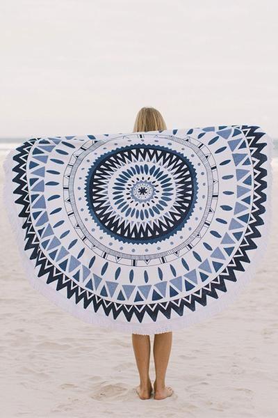 Circle Beach Towel - Majorelle