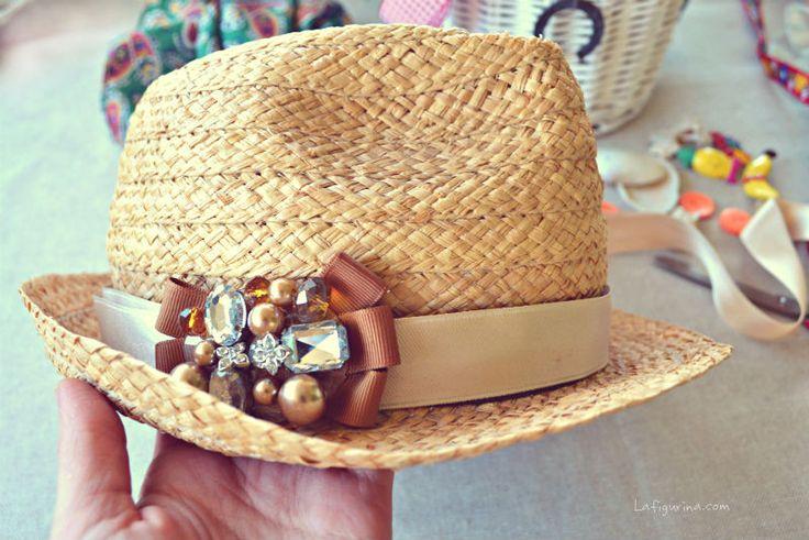 Restyling di un cappello di paglia | La Figurina