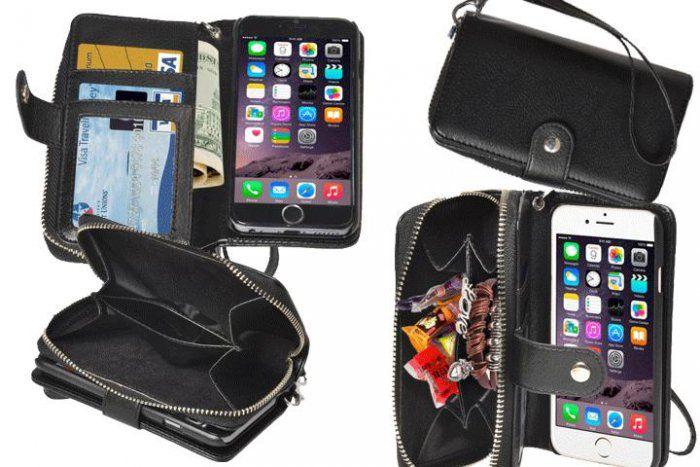 Beskyt din iPhone 6 eller 6 plus med en cover pung med aftageligt cover