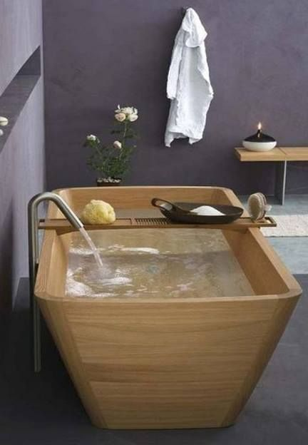 89 best images about japanese bath ofuro on pinterest for Porcelain tubs vs acrylic