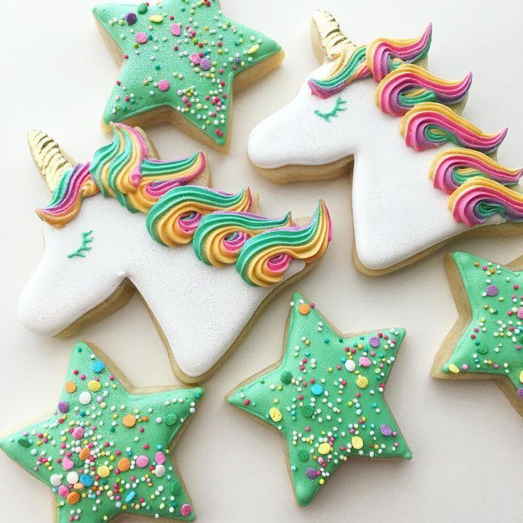 "69 Likes, 2 Comments - Margaret Rettig Nelson (@bluesugarcookieco) on Instagram: "" #unicorncookies #unicorns"""