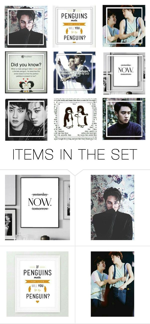 """""""Kyungsoo and Jongin"""" by shook-squad on Polyvore featuring art"""