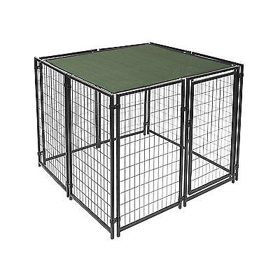 6x12ft Dog Kennel Shade Cover Heavy Duty with Aluminum Grommets Dark Green New