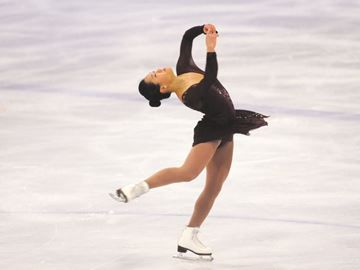 Skate Canada's Autum Classic in Barrie winds down - Angela Wang was the final skater in the women's free skate at the Skate Canada Autumn Classic International at the Allandale Recreation Centre in Barrie Thursday.
