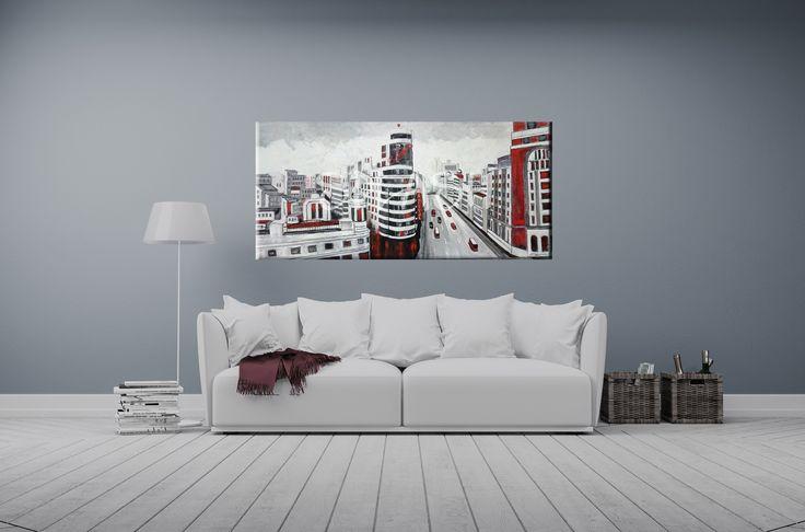 cuadros de madrid cuadros urbanos cuadros de ciudades cuadros baratos cuadros de