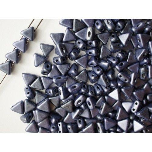 http://www.scarabeads.com/Glass-BEADS/Kheops-par-Puca/Metallic-Mat/50pcs-Kheops-par-Puca-6mm-2-hole-Czech-Glass-Pressed-Beads-Metallic-Mat-Dark-Blue