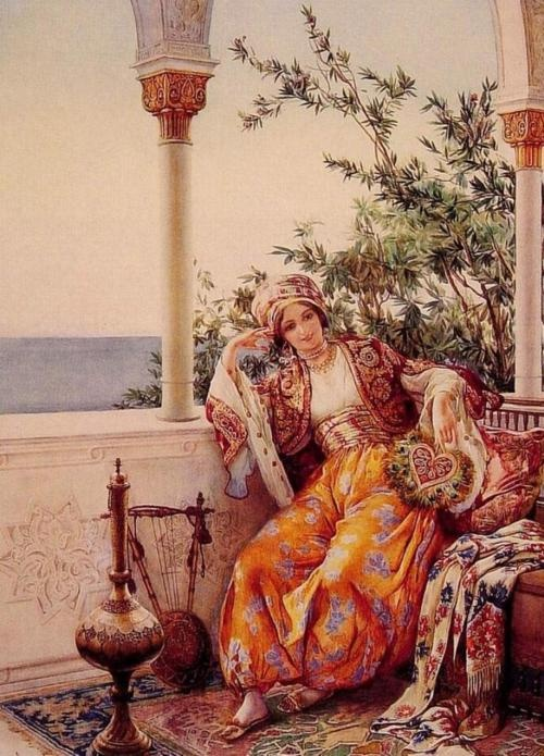 painting Misir'da Yusuf Kamil Bey