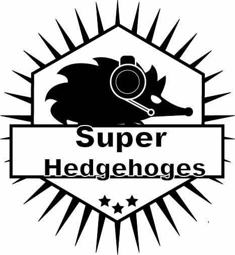 Super Hedgehoges ||Counter Stike Global Offensive, számítógépes játékkal játszó csapat logója.